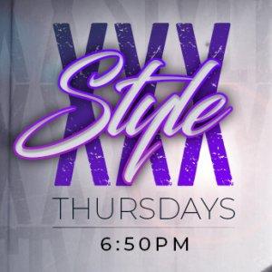 XXX Style Thursdays